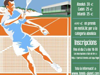 Torna el Trofeu Sant Martí de tennis